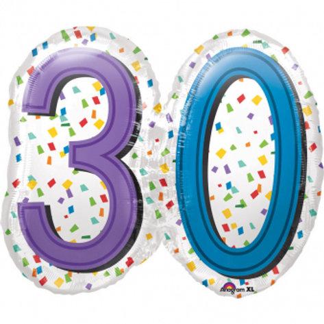 """Folienballon """"30"""""""