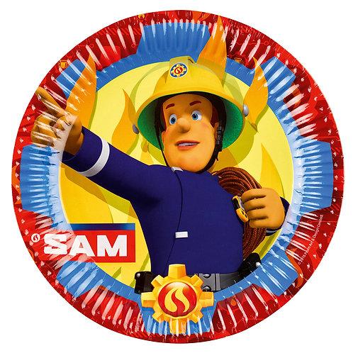 Teller Feuerwehrmann Sam