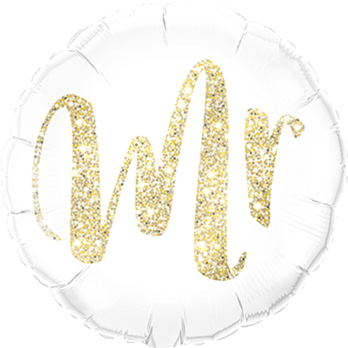 Folienballon Mr 45cm ø