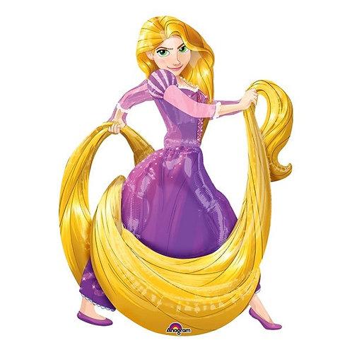 Folienballon Airwalker Rapunzel XXL