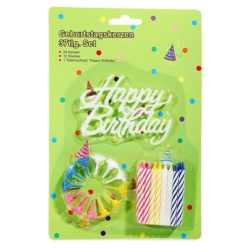 Geburtstagskerzen Set
