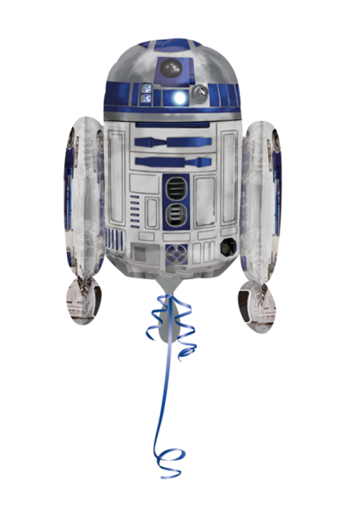 Folienballon Star Wars R2D2