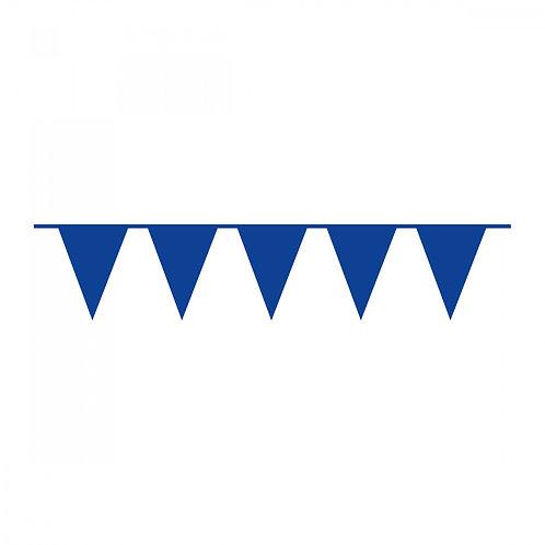 Wimpelkette Blau Plastik