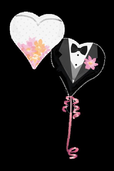 Brautpaar Herz