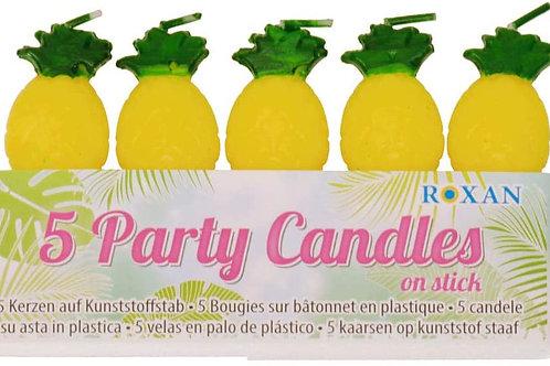 5 Kerzen Ananas