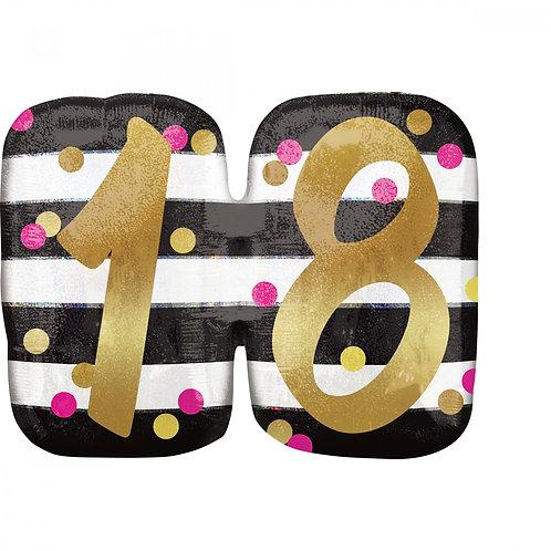 """Folienballon """"18"""""""