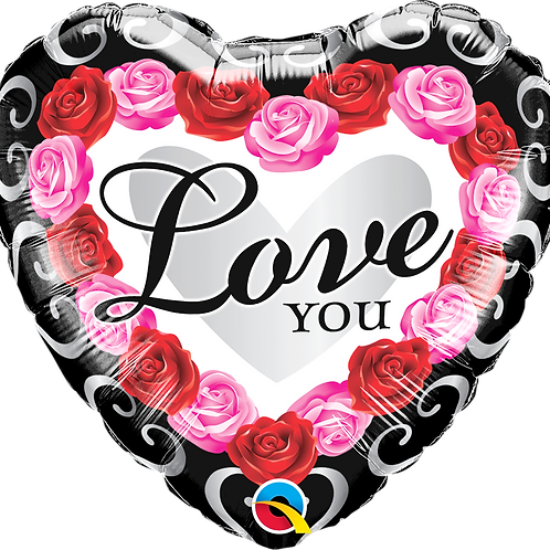 Folienballon 45cm Love You