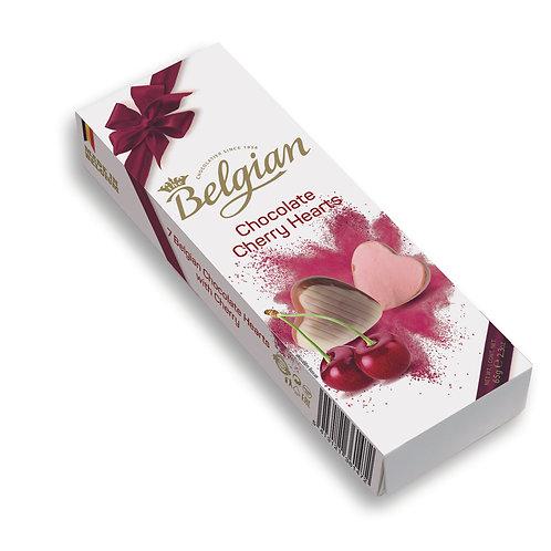 Belgian Cherry Hearts