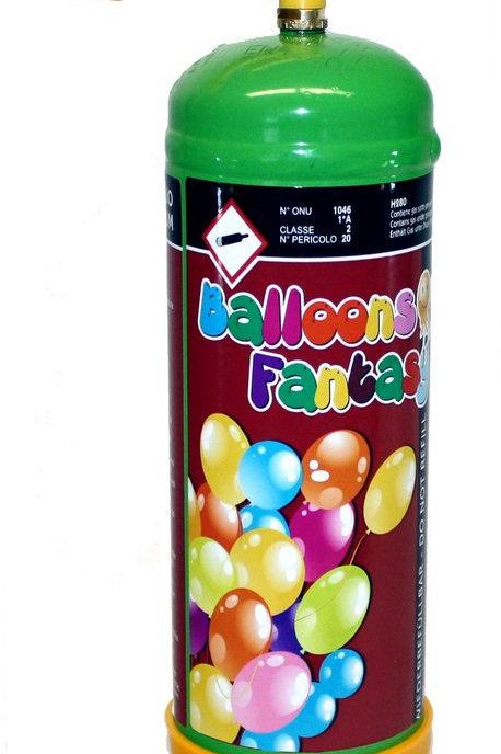 1 Heliumbehälter 0,11m³