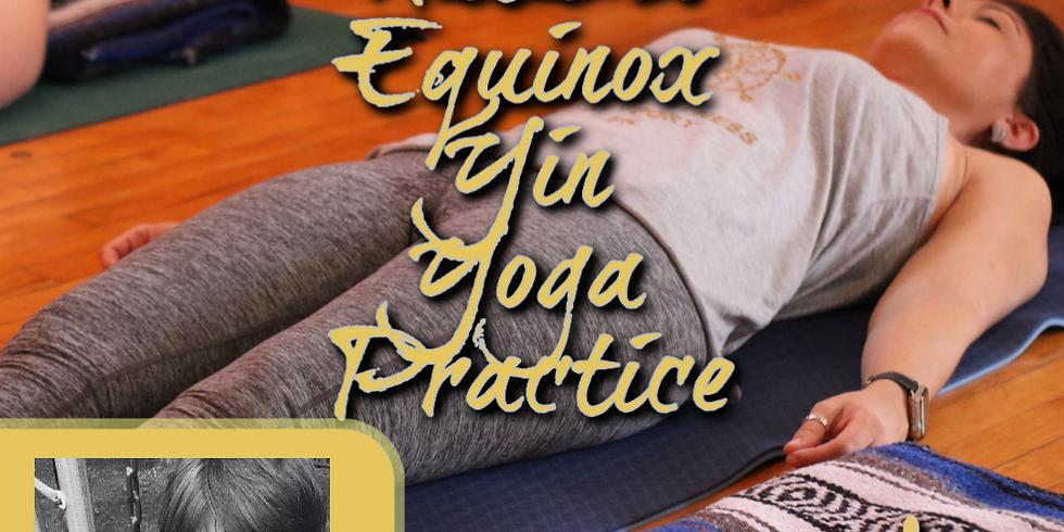 Autumn Equinox Yin Yoga Practice (In-person)