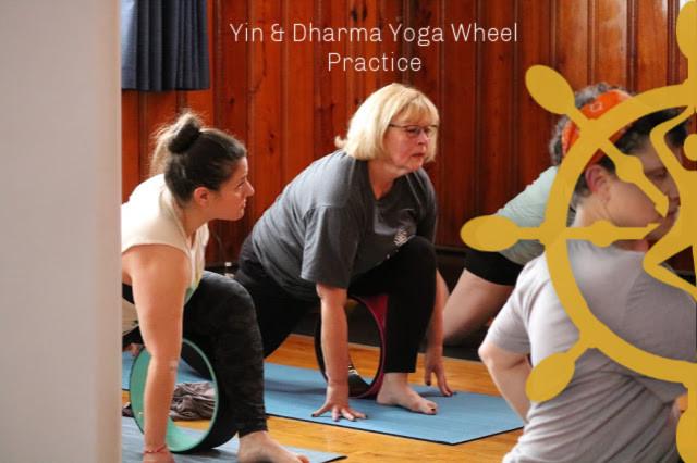 Wheel Yoga Poster