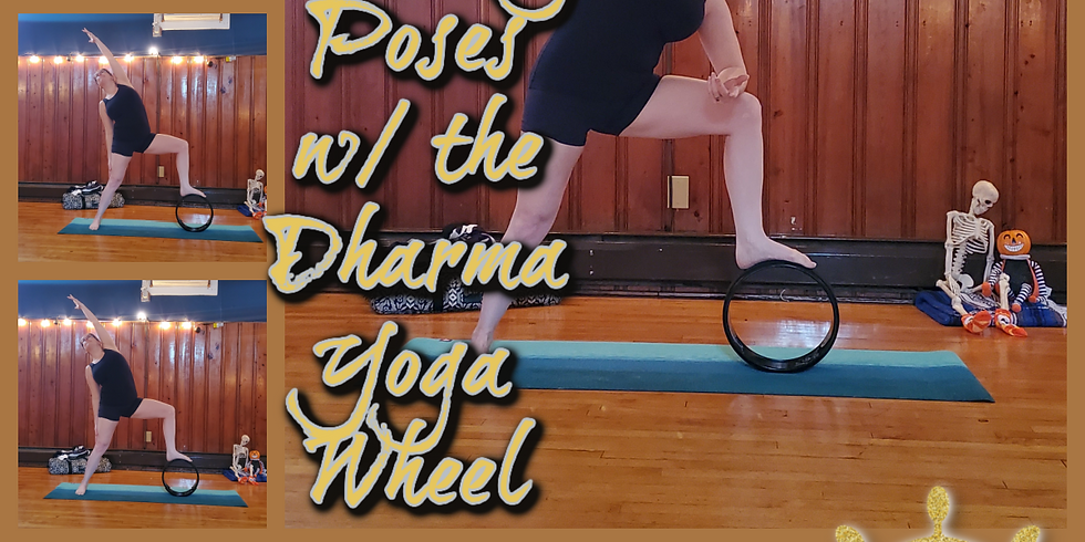 Standing Poses w/ the Dharma Yoga Wheel (in-person)