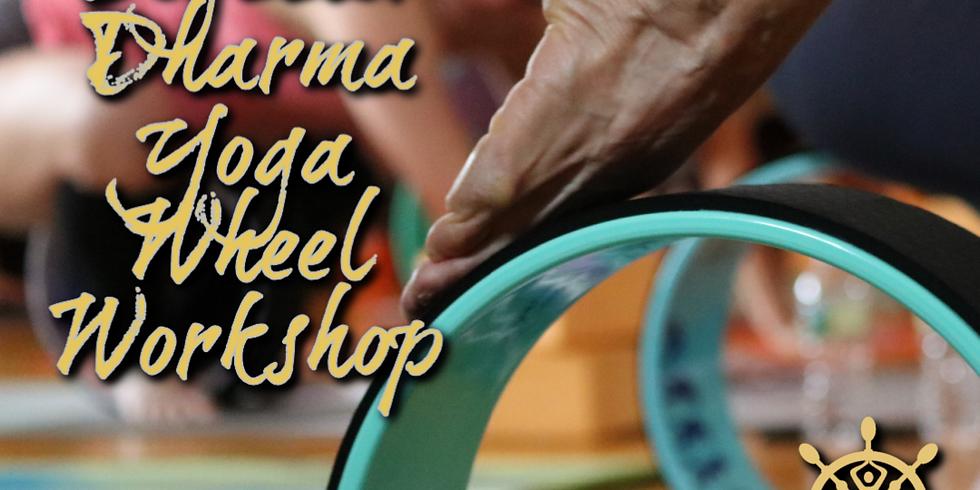 Beginner Dharma Yoga Wheel Workshop (In-Person)