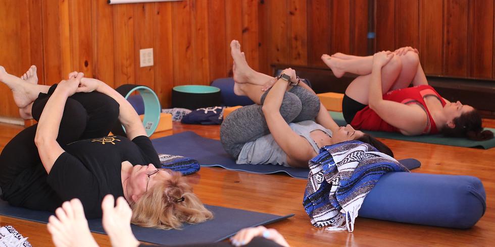 Summer Solstice Celebration:  A Yin Yoga Practice