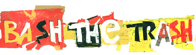 Bash the Trash Environmental Arts Logo