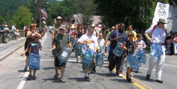 Marching Band with Bash the Trash