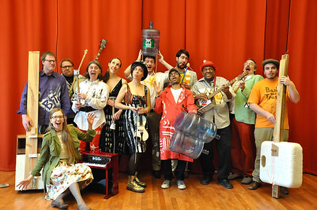 Musical Ensemble with Recycled Instruments