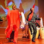 The Afro-Peruvian Ensemble (dancing zama