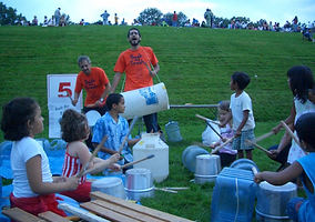 Musical Playground with Bash the Trash Environmental Arts
