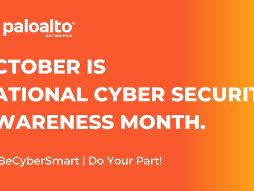 Do Your Part During Cybersecurity Awareness Month