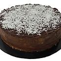 Chocolate & Praline coconut cheesecake