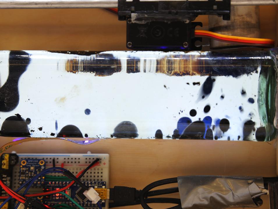 Ferrofluid Weather Reader