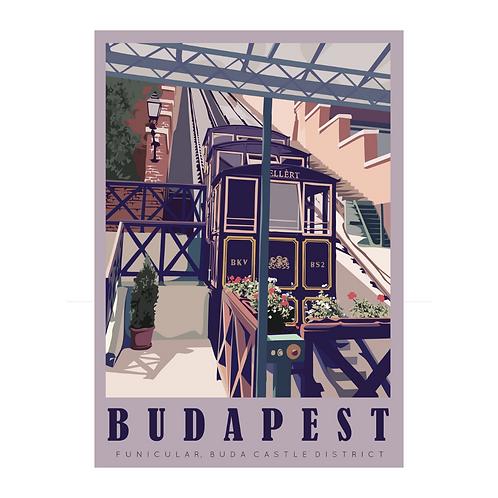 Funicular, Budapest