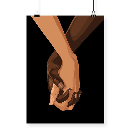 Charity Hands Together Print