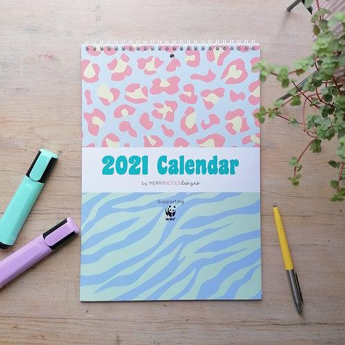 2021 Big Cats Calendar