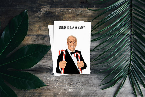 Michael Candy Caine Christmas Card