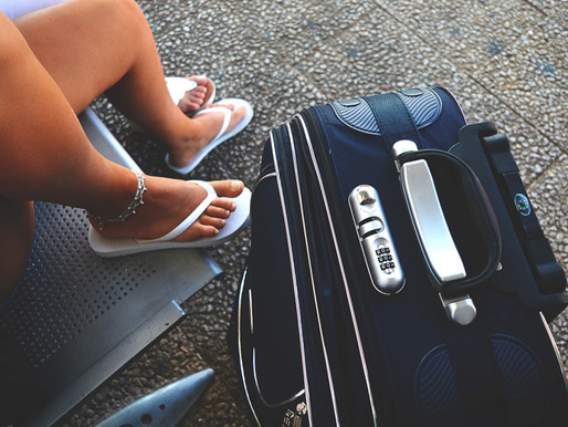How to pack a carry on for your next beach vacation