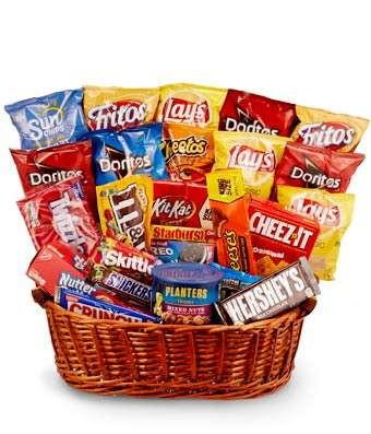 Snack & Candy Basket