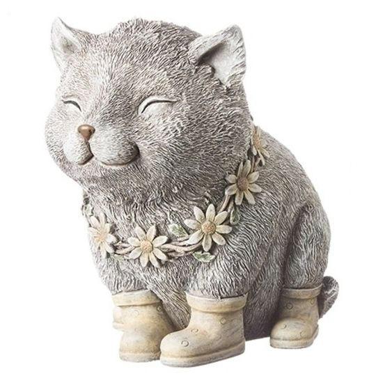 Cat wearing rain boots