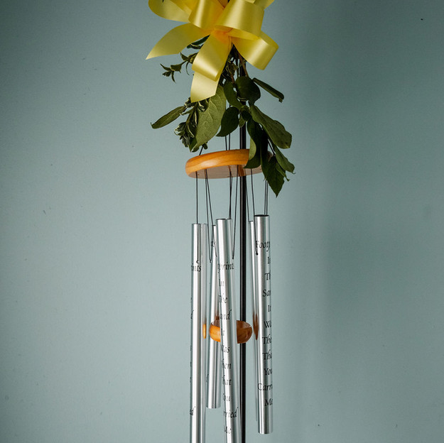 Wind Chime on Stand