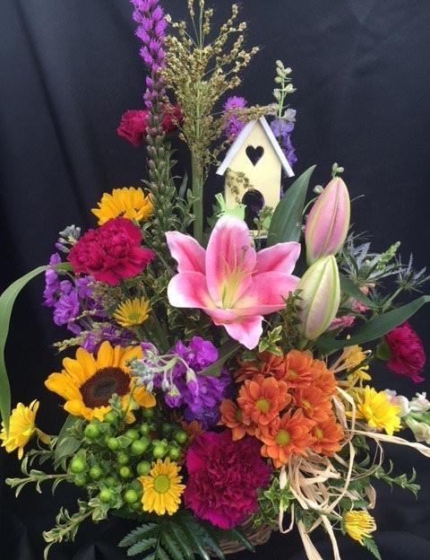 FB-8 Funeral Table Arrangement