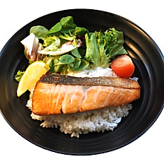Salmon Shio Rice