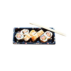 Spicy Salmon Rolls