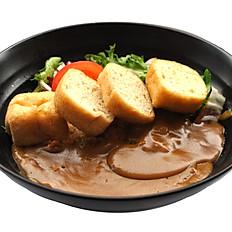 Vegetarian Tofu Curry Rice