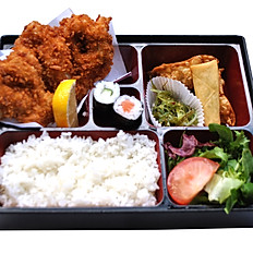 Chicken Katsu Bento With Miso Soup