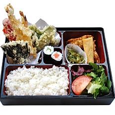 Mixed Tempura Bento With Miso Soup