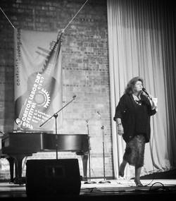 Ila Knight at the Mtn Gospel Show