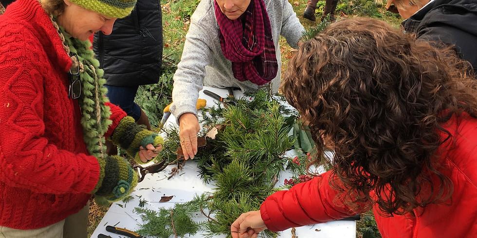 Food + Art Open House & Wreath Workshop