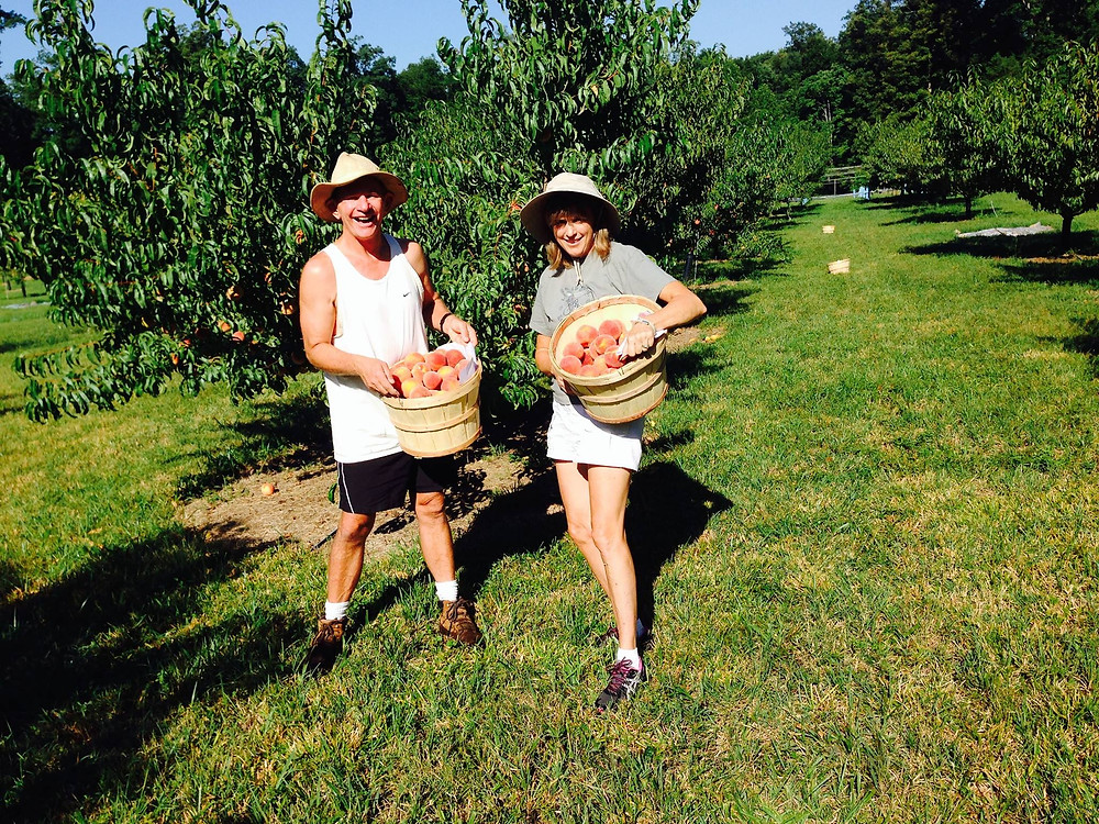 Holly and Don Smith of Owl Orchard