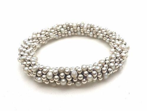 Fresh Water Pearl + Silver