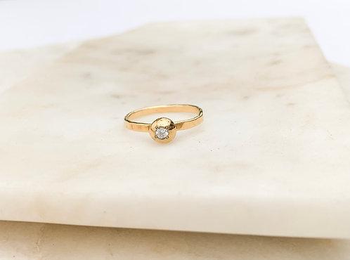 Sediment Pebble Ring, CZ- 5.5