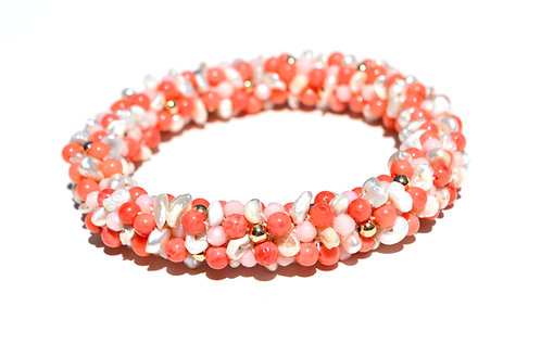 Coral + Pearl