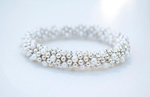 Silver + Pearl