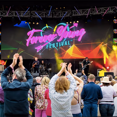 Fiestaval Street Arts, Comedy & Music Festival - Forever Young