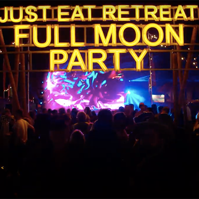 Fiestaval Street Arts, Comedy & Music Festival - Just Eat Full Moon Party