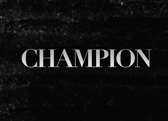 Champion + WineTasting
